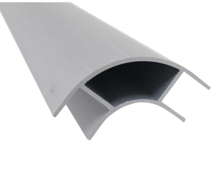 List n aluminio 2 2m perfil esquinero plateado - Perfiles de aluminio para muebles ...