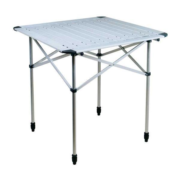 Mesa aluminio plegable for Mesa plegable aluminio