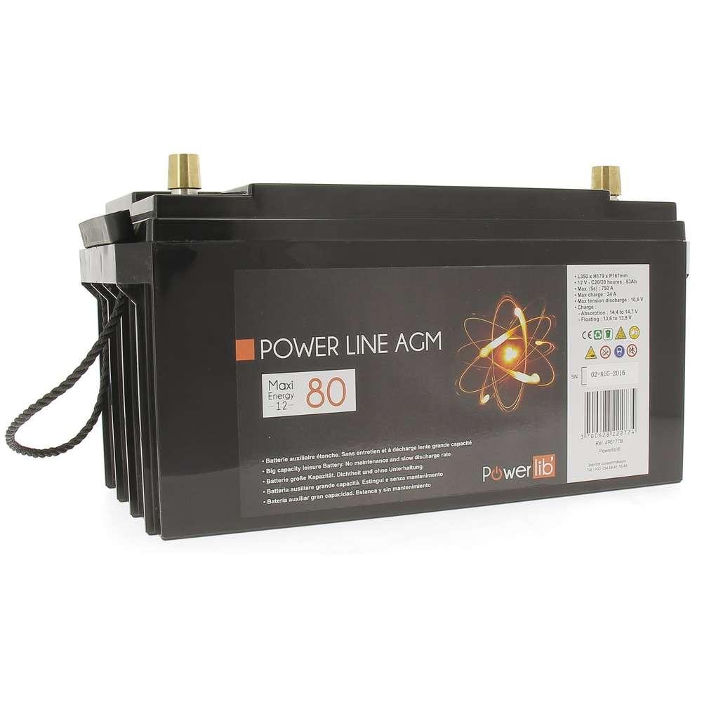 AGM Hankook 75Ah batterie décharge lente AGM 12V AXS65D26R