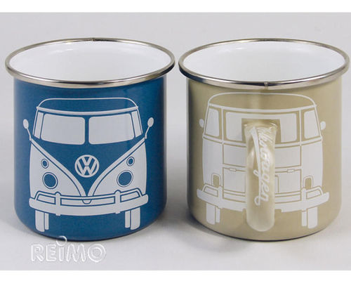 Taza VW BLUE-GREY Pack 2 Unid